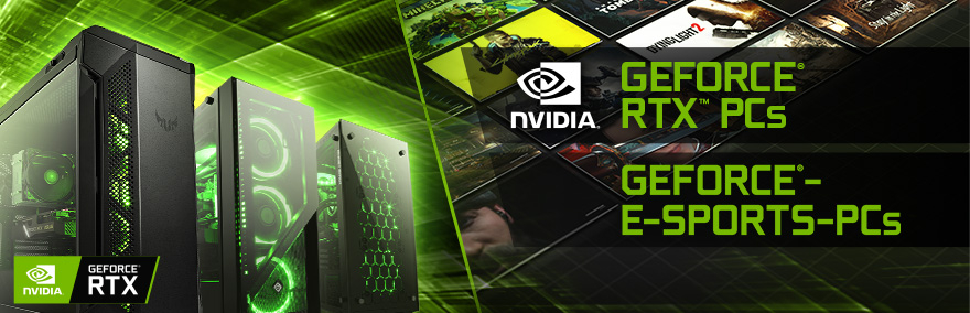 Powered by GeForce PCs