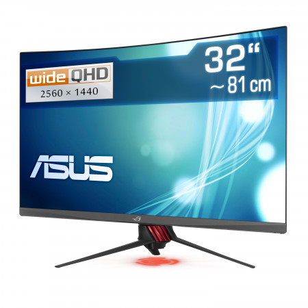 "81,3 cm (32"") ASUS XG32VQR, 2560×1440 (WQHD), 144 Hz, HDMI, DisplayPort, LED-Backlight inkl. Crysis Remastered"