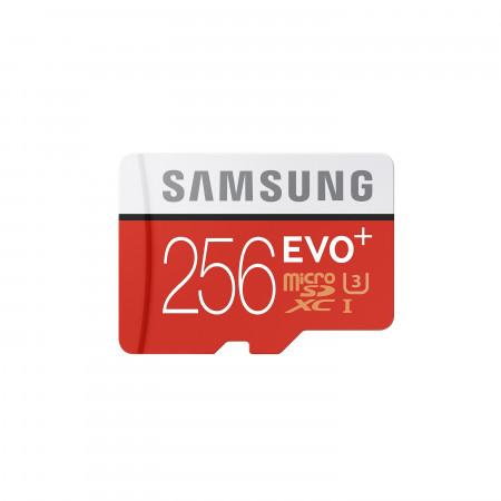 microSDHC Speicherkarte 256GB UHS-1 CL10 / Samsung EVO Plus