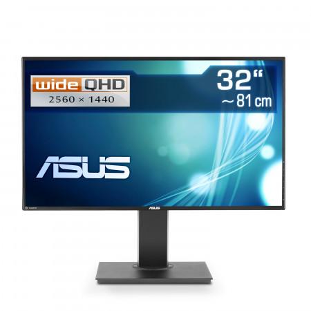 "81,3  cm (32"") ASUS PB328Q, 2560×1440 (WQHD), VGA, DVI, HDMI, DisplayPort, USB 3.1"