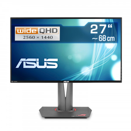 "68 cm  (27""), ASUS ROG Swift PG279Q, LED WideScreen, 2560x1440 (WQHD), HDMI, DisplayPort, USB 3.1"
