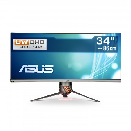 "86,4  cm (34"") ASUS ROG Swift PG348Q, 3440×1440 (UWQHD), HDMI, DisplayPort, USB 3.1"