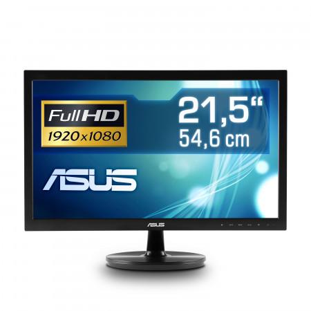 "54,6 cm (22"") ASUS VS229NA, 1920×1080 (Full HD), VGA, DVI, LED-Backlight"