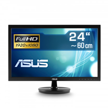 "59,9 cm (24"") ASUS VS247NR, 1920×1080 (Full HD), VGA, DVI, LED-Backlight"