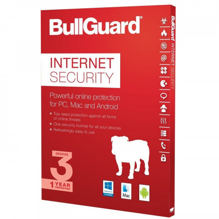 BullGuard Internet Security - 3 Lizenzen