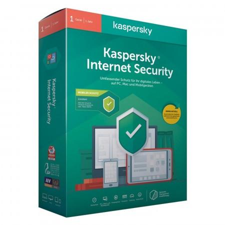 Kaspersky® Internet Security 2020 - 1 Lizenz