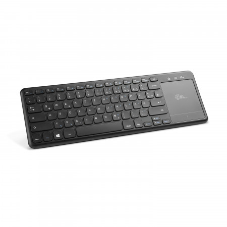 2in1 Mini Wireless Tastatur mit Touchpad