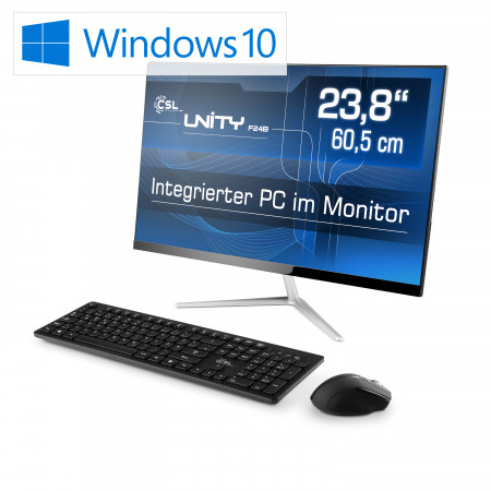 All-in-One-PC CSL Unity F24B-GL / 240 GB / Win 10 Home