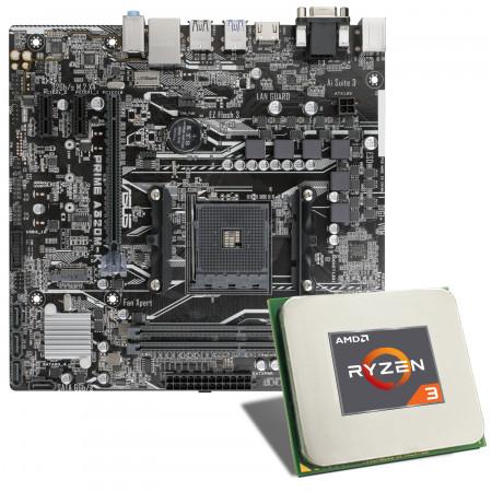 AMD Ryzen 3 3200G / ASUS PRIME A320M-K Mainboard Bundle