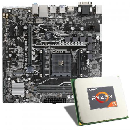 AMD Ryzen 5 3400G / ASUS PRIME A320M-K Mainboard Bundle