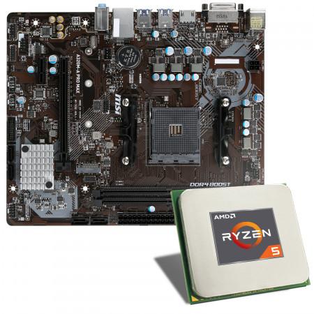 AMD Ryzen 5 3400G / MSI A320M-A PRO MAX Mainboard Bundle