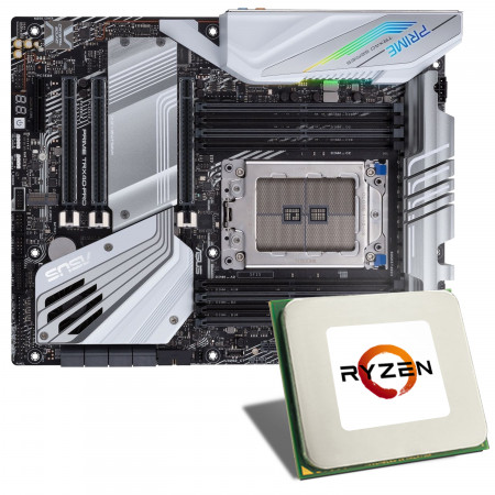 AMD Ryzen TR 3970X / ASUS PRIME TRX40-PRO Mainboard Bundle