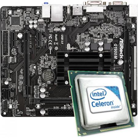 Intel Celeron J1900 / ASRock Q1900M Mainboard Bundle