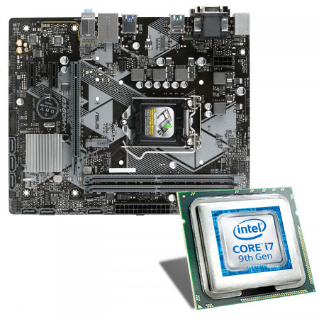 Intel Core i7-9700F / ASUS PRIME B360M-K Mainboard Bundle