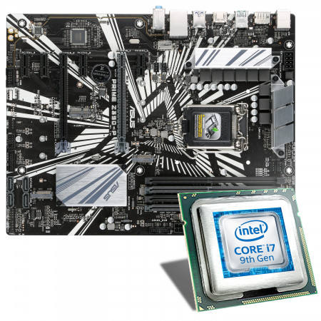 Intel Core i7-9700K / ASUS PRIME Z390-P Mainboard Bundle
