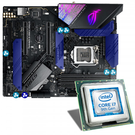 Intel Core i7-9700K / ASUS ROG STRIX Z390-E GAMING Mainboard Bundle
