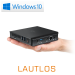 Mini PC - CSL Narrow Box Ultra HD Compact v3 / 128GB M.2 SSD / Win 10