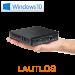 Mini PC - CSL Narrow Box Ultra HD Compact v3 / 256GB M.2 SSD / Win 10
