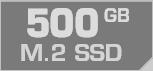 500 GB M.2 SSD