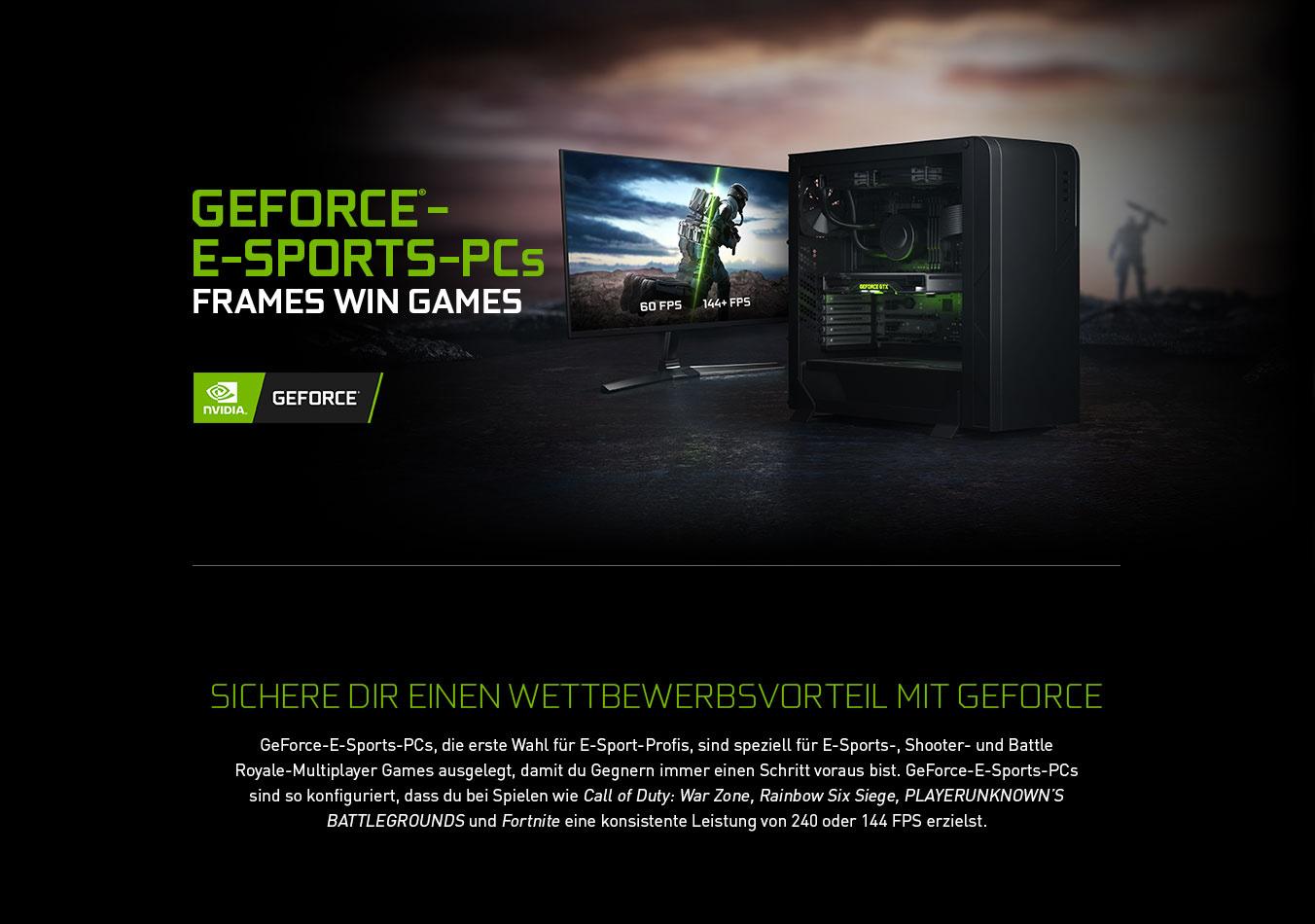 GeForce®-E-SPORTS-PCs