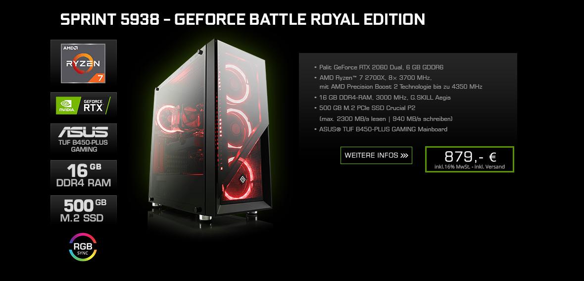 Sprint 5938 - GeForce Battle Royal Edition