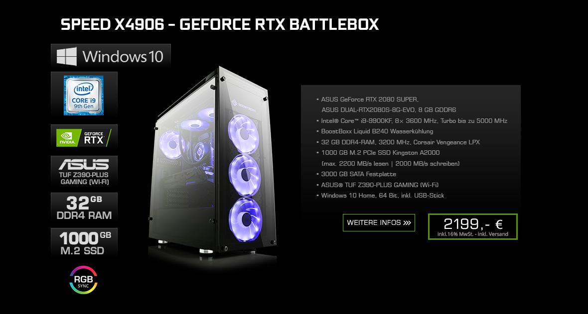 Speed X4906 - GeForce RTX Battlebox