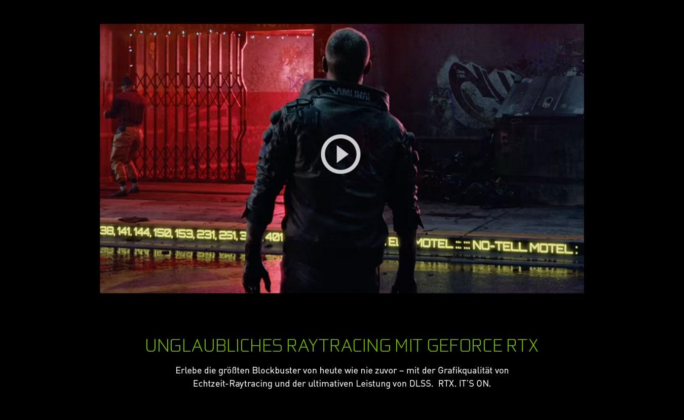 UNGLAUBLICHES RAYTRACING MIT GEFORCE RTX
