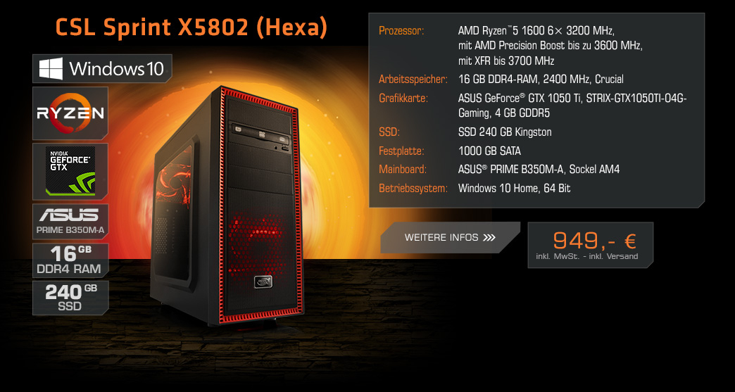 BoostBoxx Basic 1420 Powered by ASUS