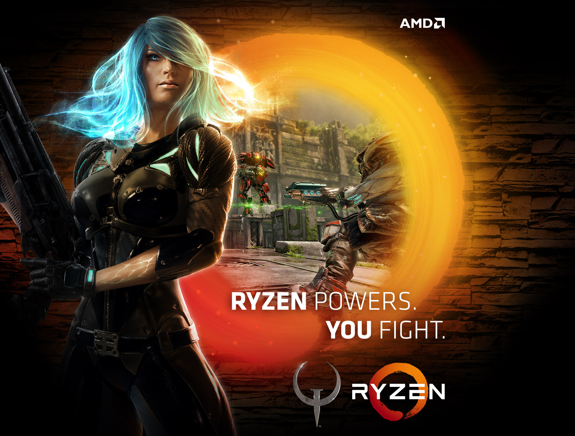 Ryzen Powers. You Fight.