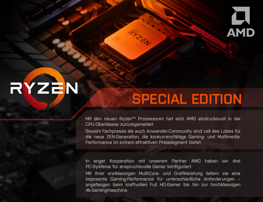 AMD Ryzen Special Edition Header