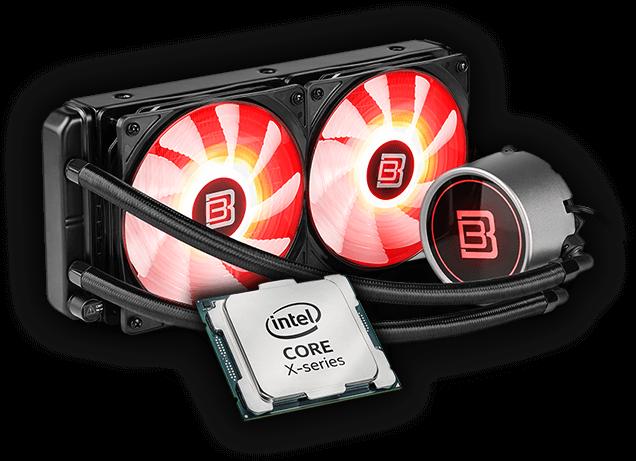 Intel Core i9-7900X inkl. BoostBoxx Liquid B240 Wasserkühlung