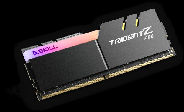 32 GB DDR4 G.SKILL Trident Z RGB