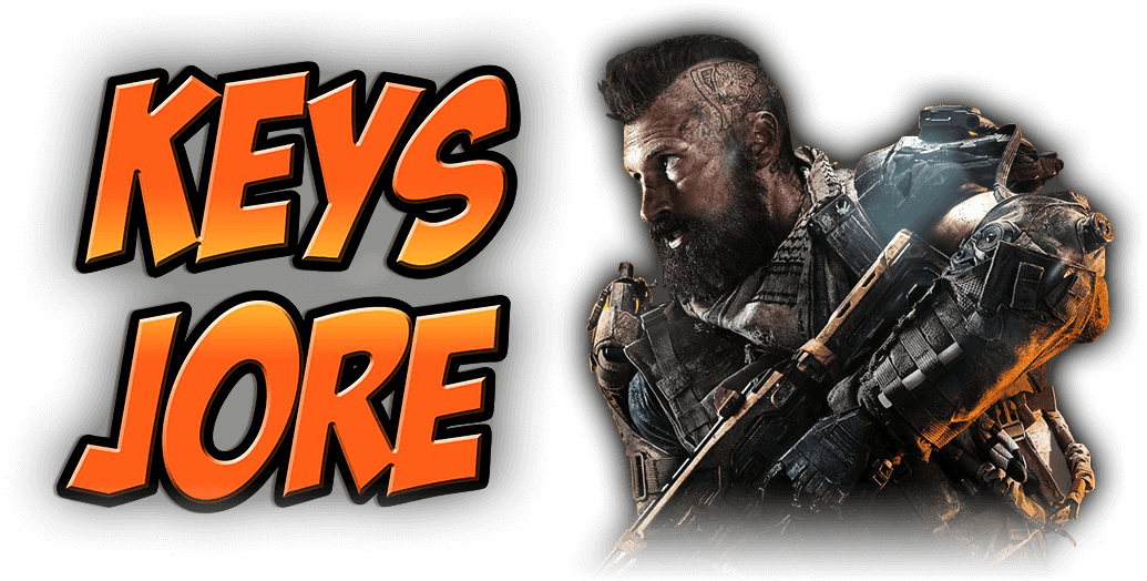 KeysJore Logo & Call of Duty: Black Ops 4