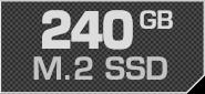 240 GB M.2 SSD