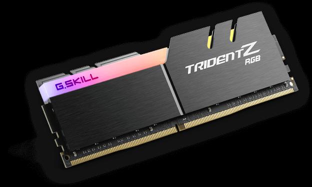 64 GB DDR4 G.SKILL Trident Z RGB