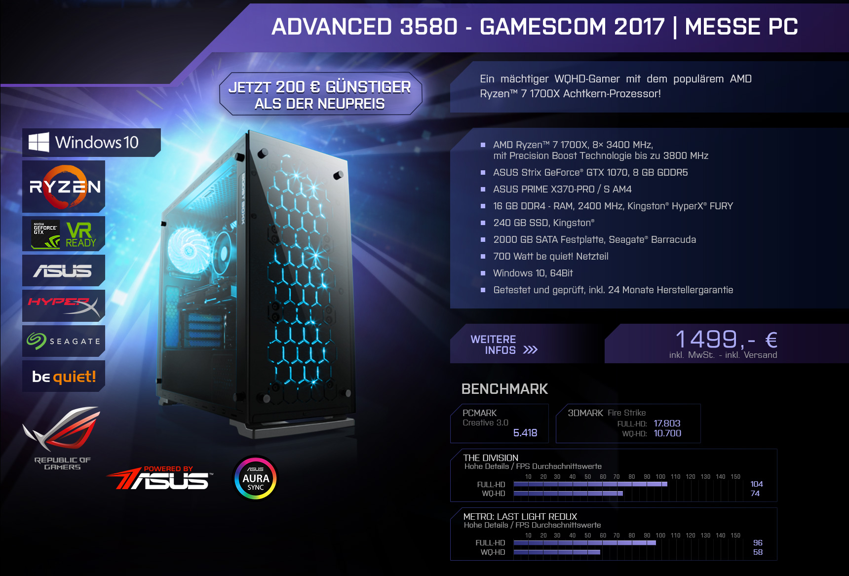 BoostBoxx Advanced 3580 | Messe PC