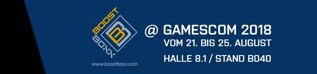 Boostboxx @ Gamescom 2018