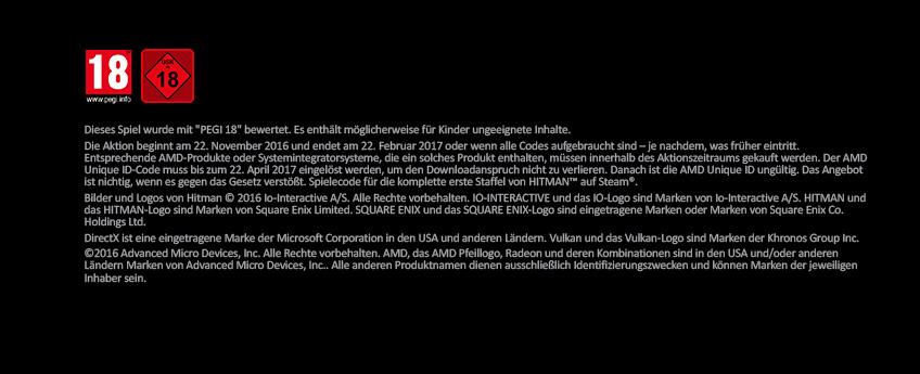 Footer AMD Hitman