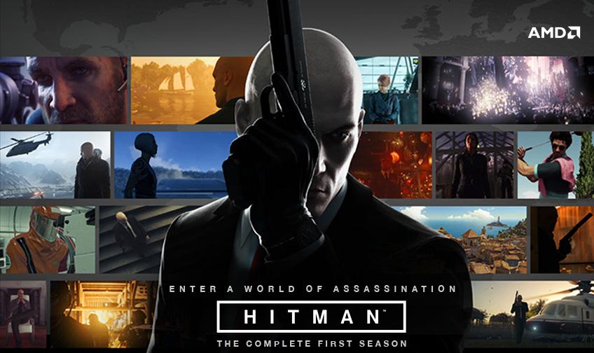 AMD Hitman The Complete First Season Header