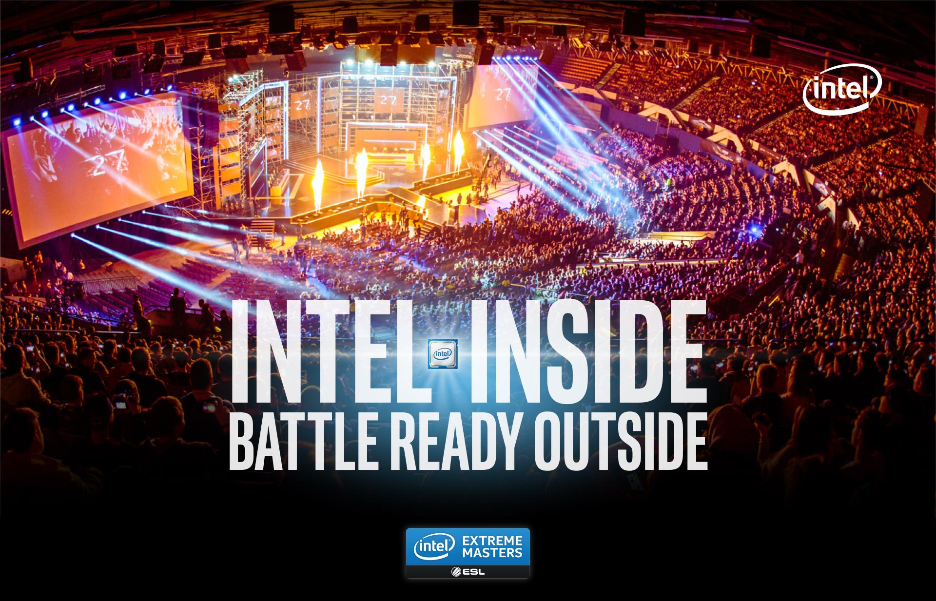 Intel® IEM Certified PC Game Pack -Intel Inside Battle Ready Outside - Intel® Core™ i7 & i9-Prozessor.
