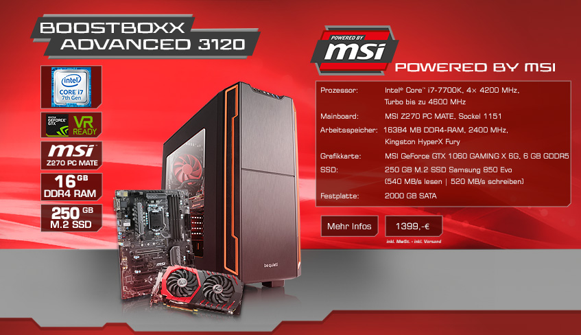 BoostBoxx Advanced 3120