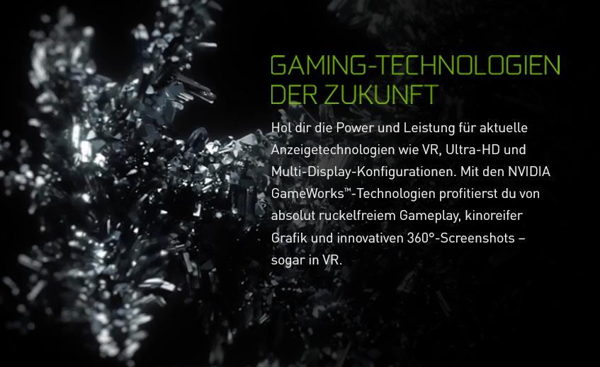 Nvidia GeForce GTX 1080 Ti - Gaming-Technologien der Zukunft