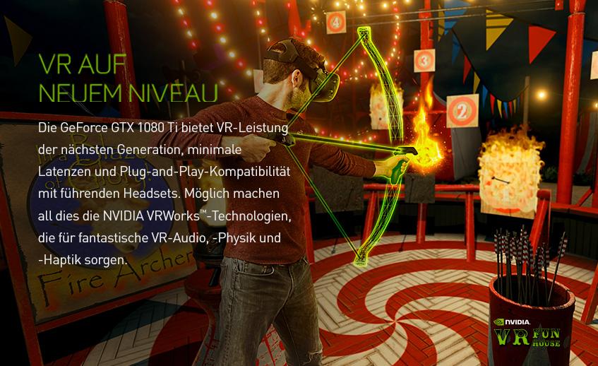 Nvidia GeForce GTX 1080 Ti - VR auf neuem Niveau
