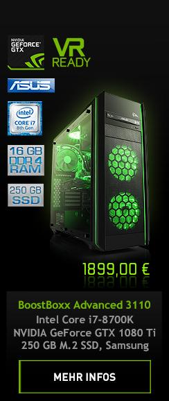 BoostBoxx Advanced 3110 GeForce GTX Battlebox