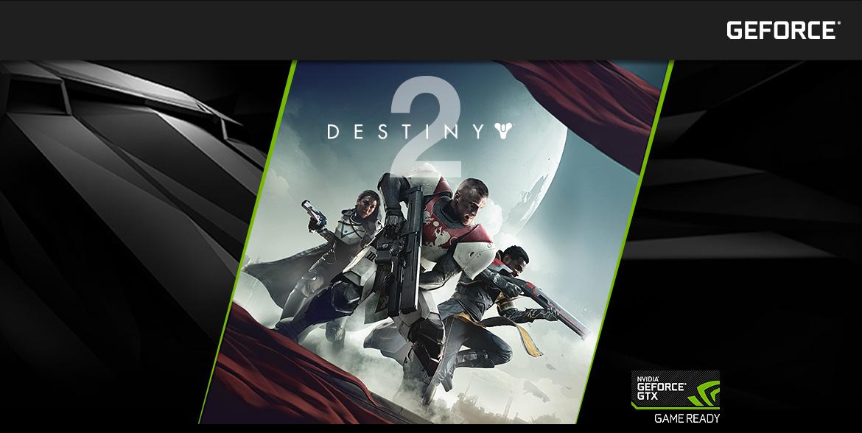 Nvidia GeForce GTX - Destiny 2