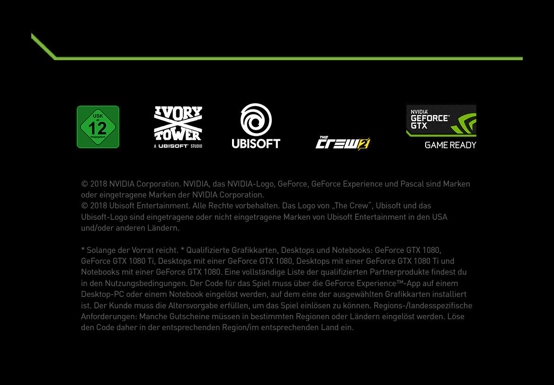 Footer Nvidia GTX - The Crew 2