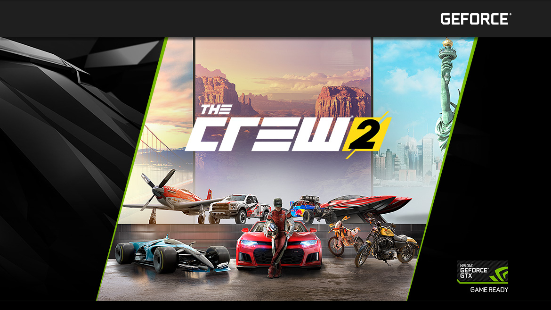Nvidia GeForce GTX - The Crew 2