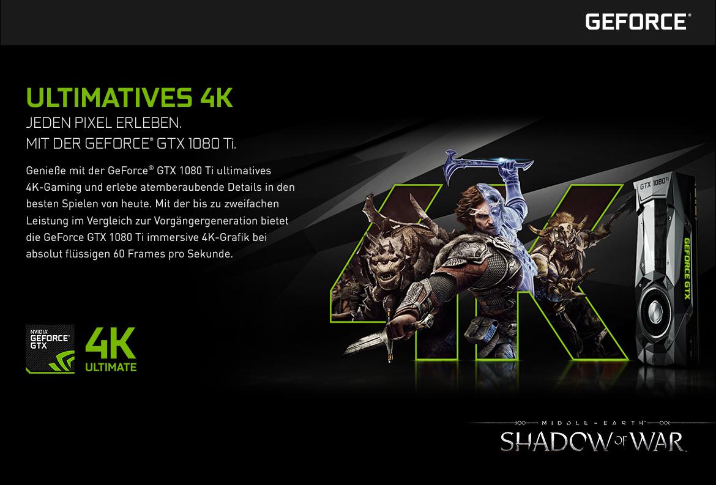 Nvidia GeForce GTX - Ultimatives 4K
