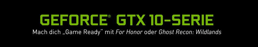 GeForce GTX 10-Serie - Mach dich