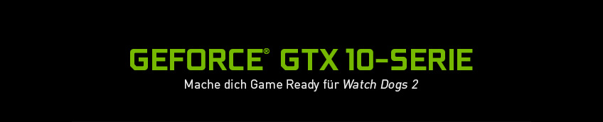 GeForce GTX 10-Serie